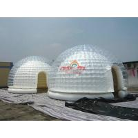 Wholesale 5m Diameter Clear Airtight Inflatable Dome Tent for exibition from china suppliers