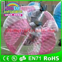 Wholesale color bumper ball inflatable bump ball for soccer bubble balls for sale from china suppliers