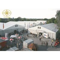 Buy cheap Outdoor Sunproof PVC Warehouse Storage Tent Industrial Aluminum Structure from wholesalers