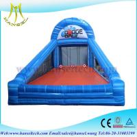 China Hansel Perfect customized indoor inflatable sports games inflatable ball games on sale