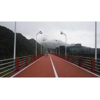 Wholesale Anti Aging EPDM Jogging Track , UV Resist Coloured Rubber Crumb Thickness 13-15mm from china suppliers