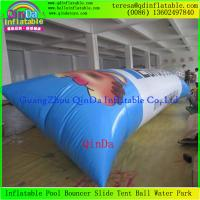 Wholesale Hot Sale 0.9mm Thickness PVC Tarpaulin Jumping Pillow Water Air bag Inflatable Blob from china suppliers