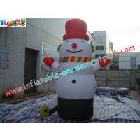 Wholesale PVC Inflatable Christmas Decorations Santa Snowman For Advertising from china suppliers