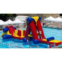 China Eco Friendly Inflatable Water Obstacle Course , Large Inflatable Water Floats on sale
