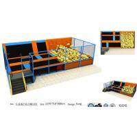 Buy cheap 83M2 Chinese Amusement Trampoline/Kids and Adults Trampoline Bungee Park / from wholesalers