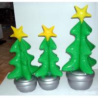 Wholesale pvc inflatable christmas tree for advertising, inflatable pvc christmas tree for promotion from china suppliers