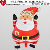 Quality Advertising christmas inflatable santa and outhouse christmas inflatable decoration for sale
