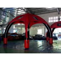 Wholesale Red Advertising  Outdoor Air Sealed Inflatable Spider Tent with 0.65mm PVC Tarpauline from china suppliers