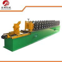 Wholesale Omega Type Steel Stud Roll Forming Machine 0.3 - 0.8 Mm Thickness ISO 9001 Approved from china suppliers