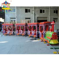 Wholesale kiddie amusement rides train/children electric train from china suppliers