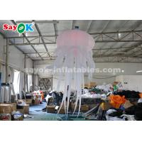 Wholesale Durable Inflatable Hanging Jellyfish For Home / Bar / Concert Light Weight from china suppliers
