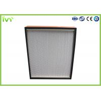Wholesale Disposable Terminal HEPA Air Filter Cleanroom Ceiling Mounted Easy Installed from china suppliers