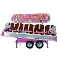 Wholesale 10 Seats Theme Park Rides Crazy Wave Ride With Trailer OEM Service from china suppliers