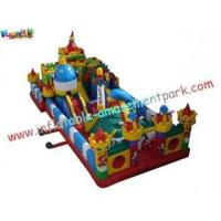 Buy cheap Kids Fun Inflatable Amusement Park Equipment PVC Tarpaulin for Rent from wholesalers