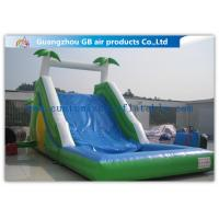 China Commercial Grade Cool Inflatable Water Slide , Water Slide For Pool Inflatable on sale