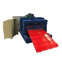 Wholesale Guide Pillar Steel Color Tile Roof Roll Forming Machine High Precsion from china suppliers