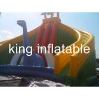 Wholesale Attractive Slide Jumper Bouncer Bouncy Children Inflatable Slide Beach Fun from china suppliers