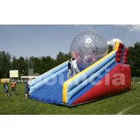 Wholesale PVC Zorb Ball Racing Track , Zorb Ramp Used On Grassland Or Snow Field from china suppliers