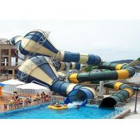 Wholesale Giant Custom Water Slides Commercial Aqua Playground Open / Close Style Combined from china suppliers