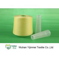 Wholesale 502 Colored Ring Spun Dyed Polyester Yarn , Polyester Twisted Yarn For Knitting / Weaving from china suppliers