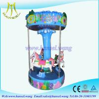 Wholesale Hansel coin operated electric horse ride 3 seats carousel horse from china suppliers