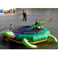 Wholesale Turtle Jump 15-Foot Water Trampoline, Inflatable Floating Water Toys / Jumping Pad from china suppliers