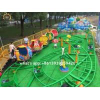 Wholesale Backyard Amusement Park Roller Coaster , Snail Cabin Mini Spinning Roller Coaster from china suppliers