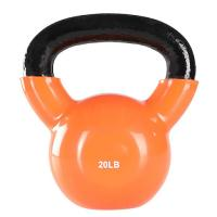 Buy cheap Vinyl Coated Gym Kettlebell 24 Kgfor Cross Training Swings Body Workout from wholesalers