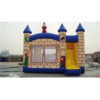 Wholesale Durable Princess Castle Bounce House , Blow Up Jump House For Musement Parks from china suppliers