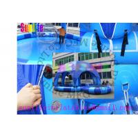 Wholesale inflatable blue pool with a cover tent from china suppliers