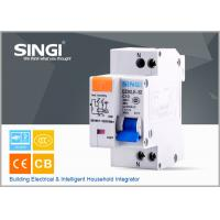 Wholesale Single phase Electric mini Residual Current Circuit Breaker for industrial , building from china suppliers