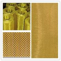 Wholesale Corrosion Resistance Brass Woven Wire Mesh For Metal Powder Filtration from china suppliers