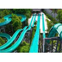Wholesale Amusement Park Outdoor Pool Fiberglass Water Slide from china suppliers