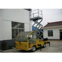 Buy cheap Yellow / Blue Vehicle Mounted Work Platforms 9 meter Height With 306 kg Load from wholesalers