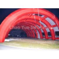 Outdoor 40x20m Red Archway Inflatable Sport Air Tent with CE Blowers