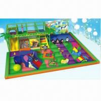 Playground Equipment/Toddler Play Area in Size of 8 x 9.5 x 2.5m, Safe and Durable