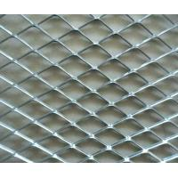 Buy cheap Aluminum Decorative Expanded Metal Mesh Hot Dipped For Outdoor Protection Fence from wholesalers