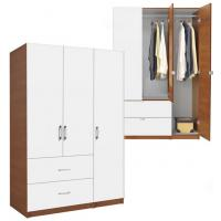 The White Wood Closet Doors Are Not Only Match With The Solid White  Carcass, But Also Match With The Wood Grain Carcass As Below: