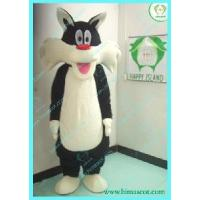 Wholesale Black Cat Plush Mascot /Fur Cartoon Character from china suppliers
