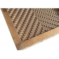 Wholesale Custom Design Pattern Hole Exterior Wall Cladding Panel With Square Tube Frame from china suppliers