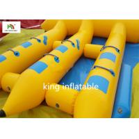 Wholesale Hot Inflatable Fly Fishing Boats With Motor / Funny Pontoon Boats For Fly Fishing from china suppliers