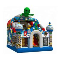China Out Space Inflatable Bouncy Castle Slide Combo Jumper 1 Year Warranty on sale