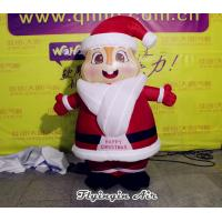 Wholesale Customized Christmas Santa Cute Inflatable Xmas Santa Claus for Advertising from china suppliers