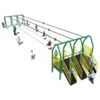 Wholesale ISO9001 Preschool Playground Equipment , Kindergarten Aerial Zip Line Equipment from china suppliers