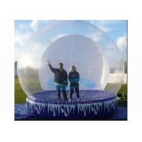 Wholesale Attractive Giant Inflatable Dome Tent / Bubble Tent For Taking Photos Fire Proof from china suppliers