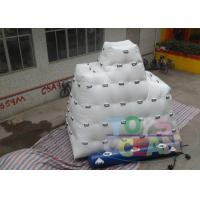 China Amazing Floating Iceberg Climbing Wall / Inflatable Games For Adults on sale