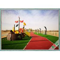 China Plastic 4 Tone Natural Landscaping Artificial Grass For Garden Decoration on sale