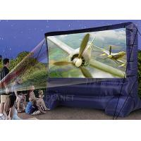 Wholesale Lightweight Inflatable Outdoor Projector Screen Fabric Material Apply To Home from china suppliers