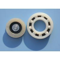 Wholesale POM / PA66 High Precision Plastic Plain Bearings With Glass Stainless Balls from china suppliers