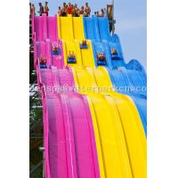 Wholesale Aqua Park Spiral Slide Water Park Equipment / Water Funny Game For Adults from china suppliers